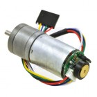 Metal Gear Motor 75:1 25Dx54L mm HP with 48 CPR Encoder