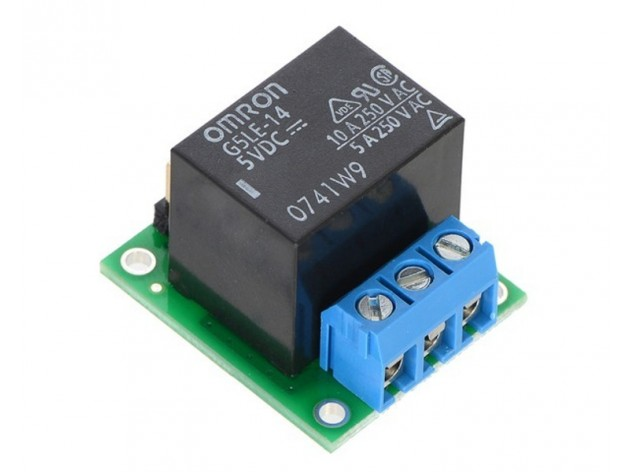 Pololu 5VDC SPDT Relay with Carrier (Assembled)