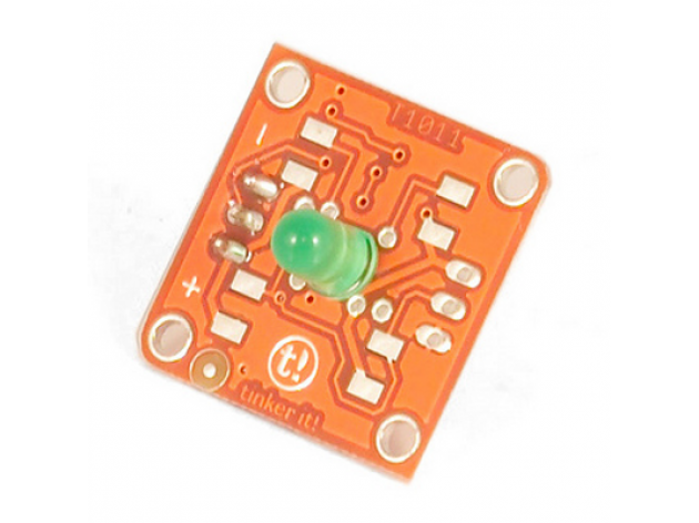 TinkerKit 5 mm Green LED Module
