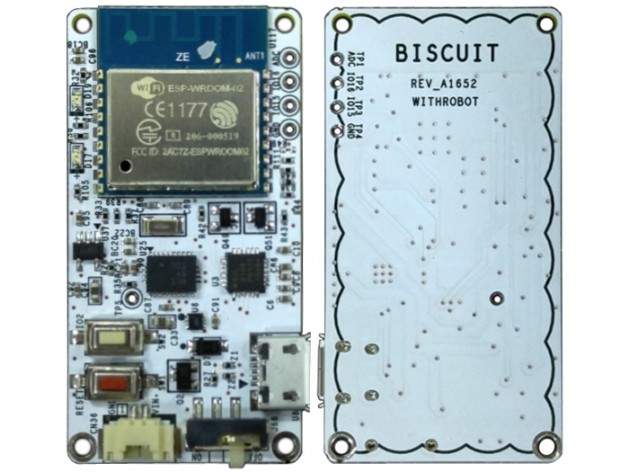 WithRobot Biscuit Programmable WiFi 9-axis absolute orientation sensor